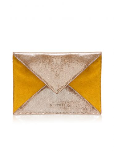 postcard Yellow suede